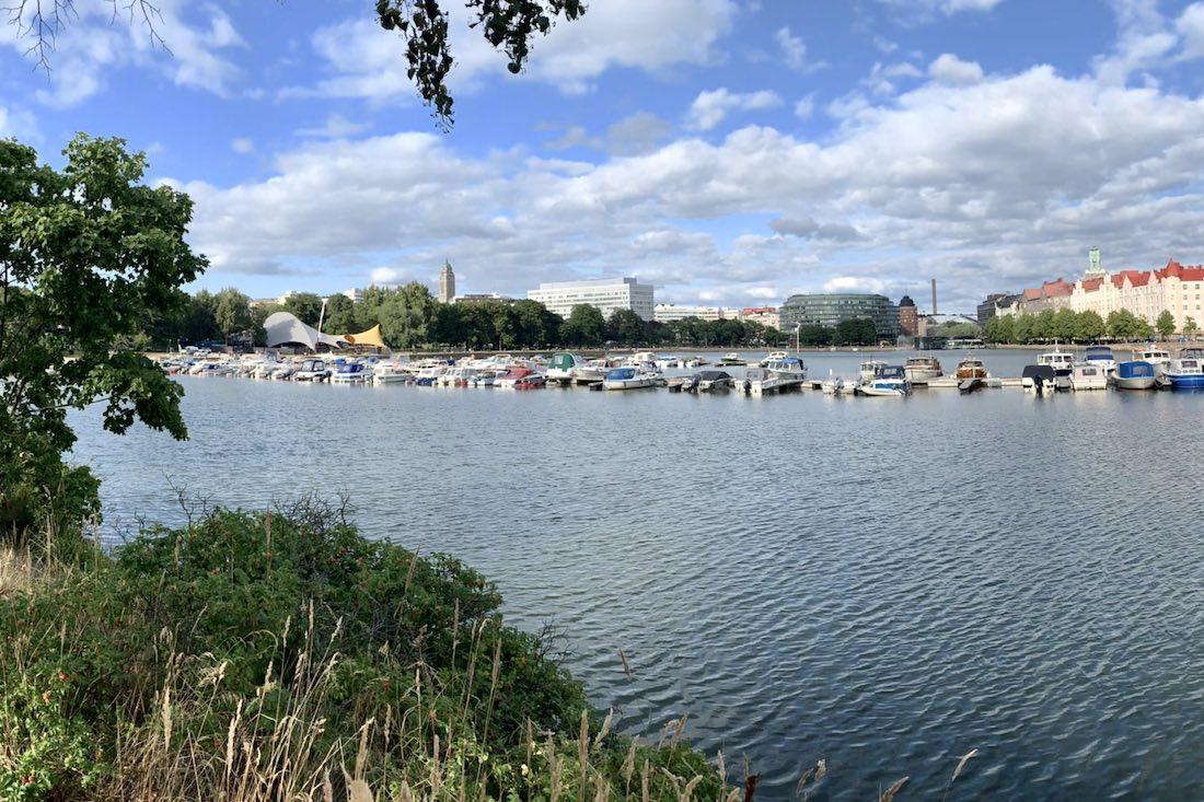 Kesäinen Helsinki ja Tokoinranta Hakaniemi