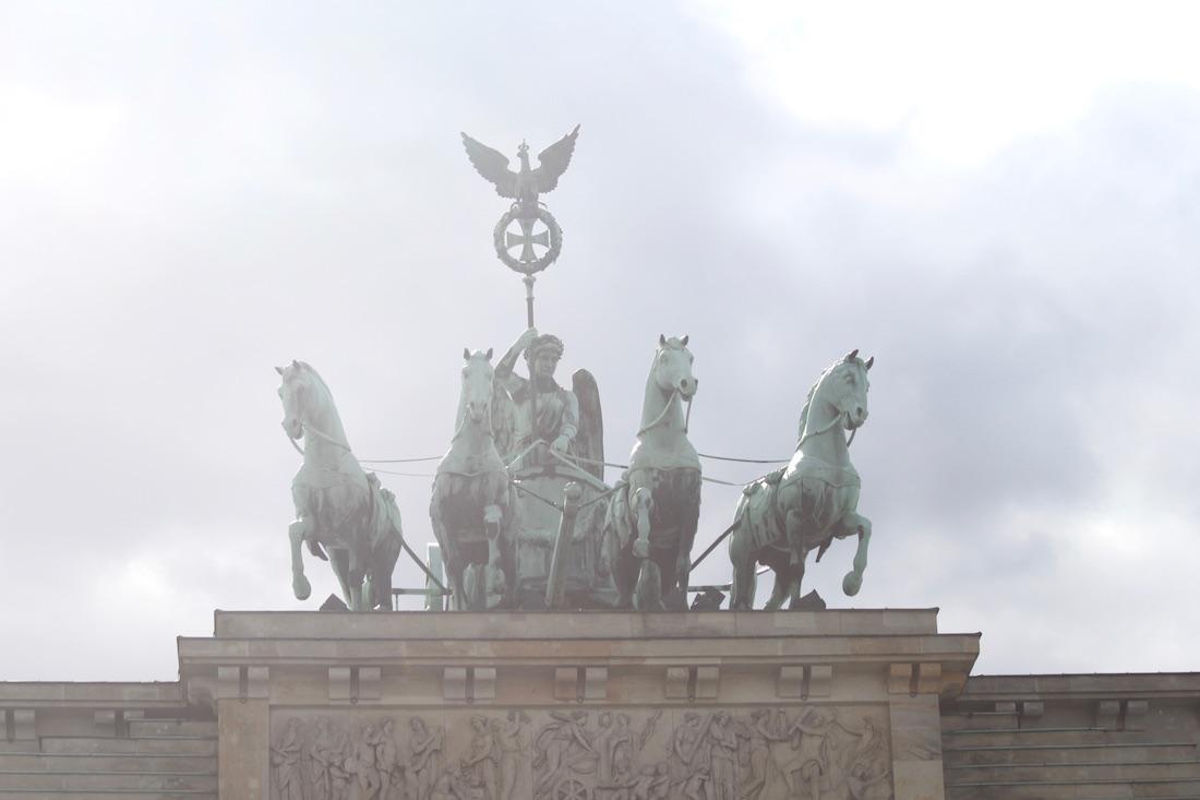 Branderburg Gate Berliinissä