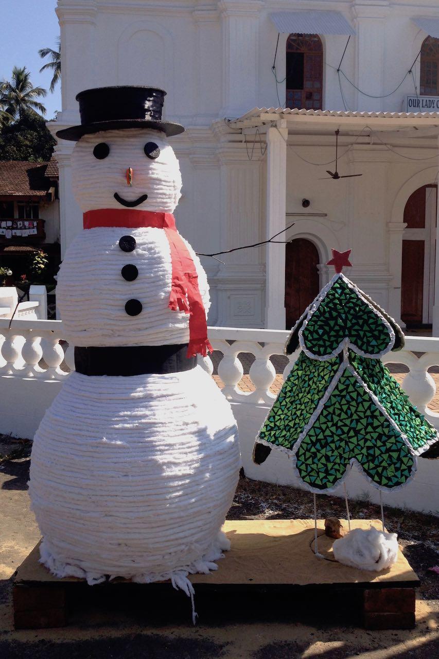 Lumiukko Goassa