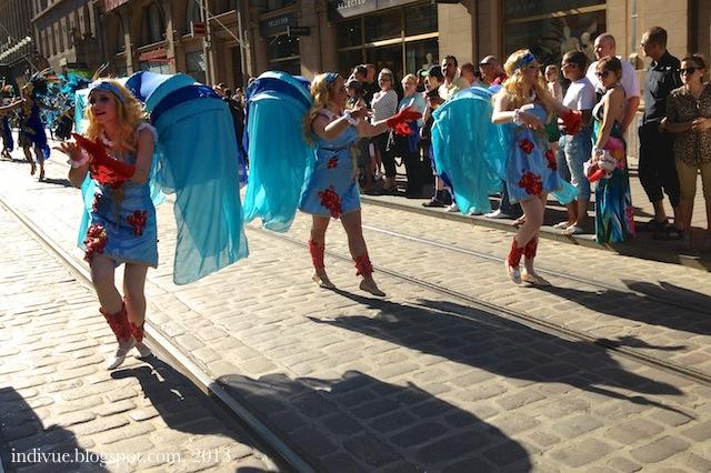 Sambakarnevaalit Helsingissä vuonna 2013