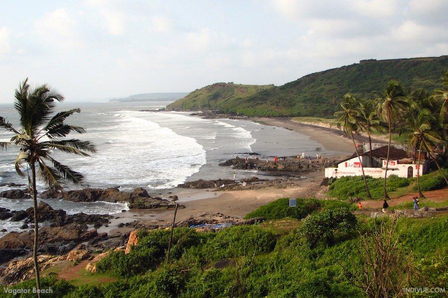 Vagator Beach, Goa, Intia