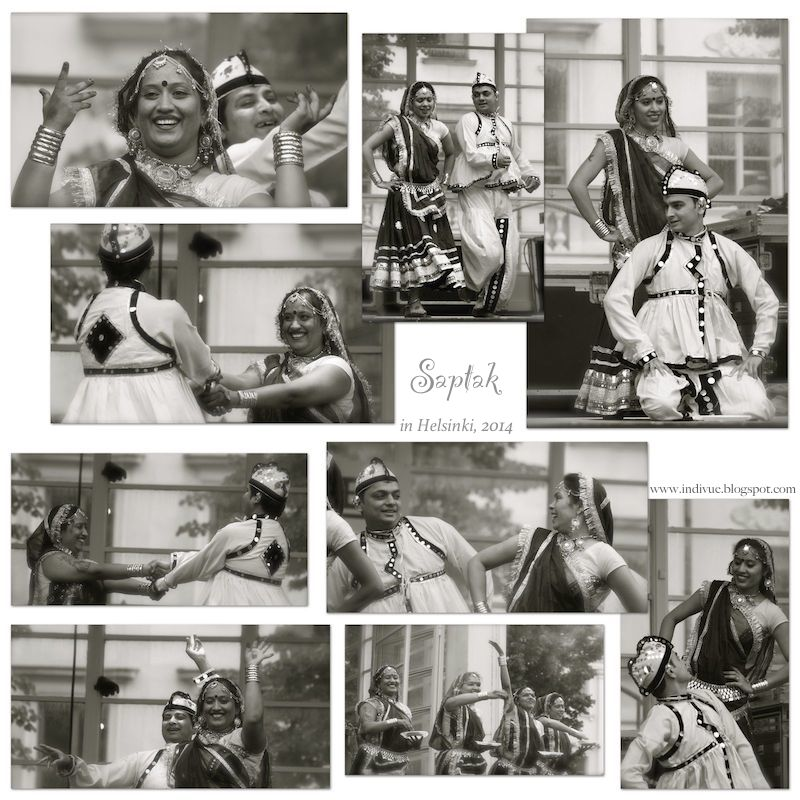 Saptak ja intialainen kansantanssi Helsingissä
