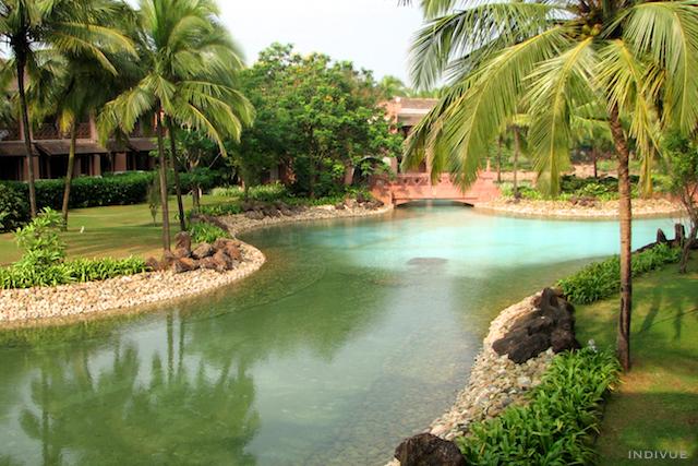Viiden tähden hotelli Goassa: Park Hyatt resort and spa