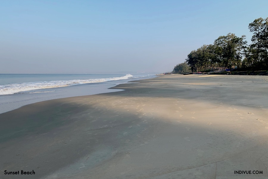 Sunset Beach Etelä-Goassa