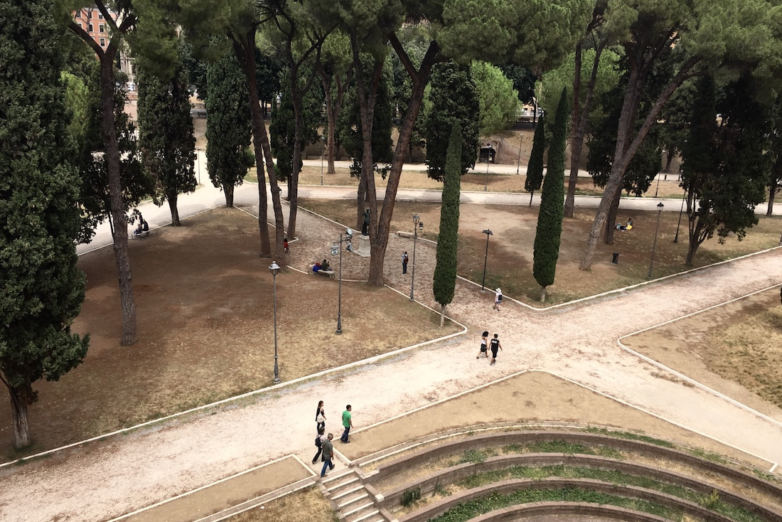 Puisto Roomassa, Italiassa