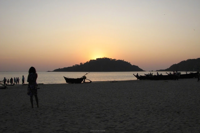 Palolem Beach, Goa, Intia