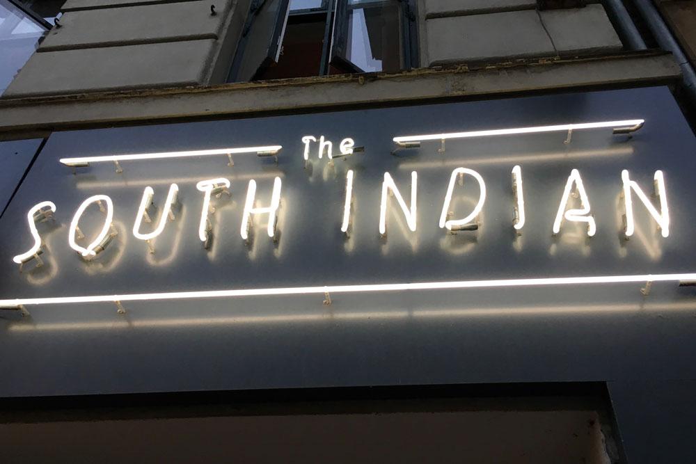 The South Indian - eteläintialainen ravintola Kööpenhaminassa