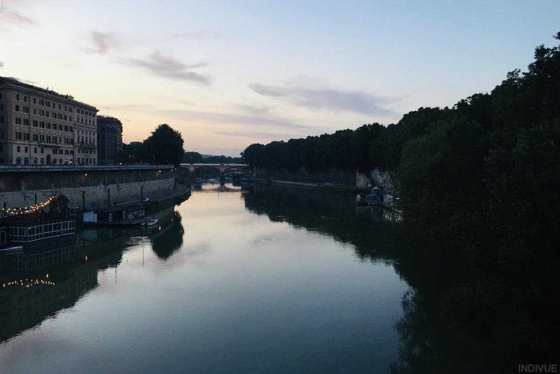 Tiber-joki Roomassa