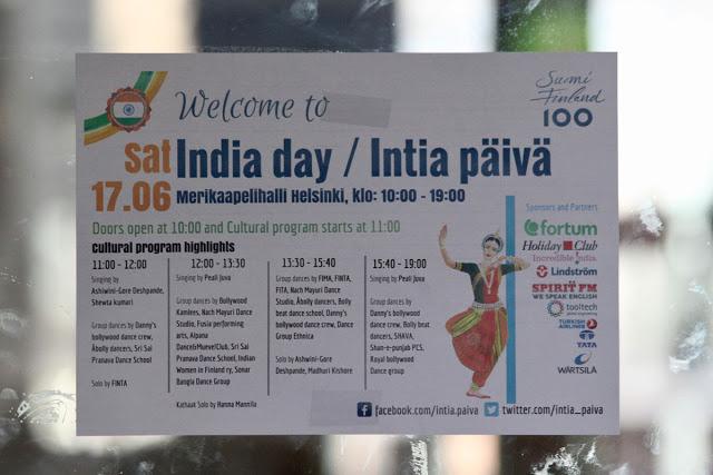 India day / Intia päivä 2017 ohjelma