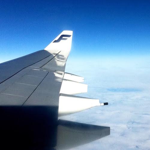 Lento Delhistä Helsinkiin