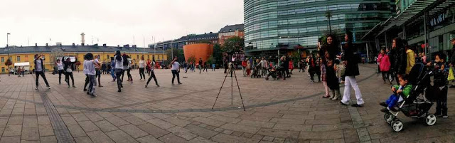 Bollywood Flashmop, Helsinki, Finland, 21.9.2013