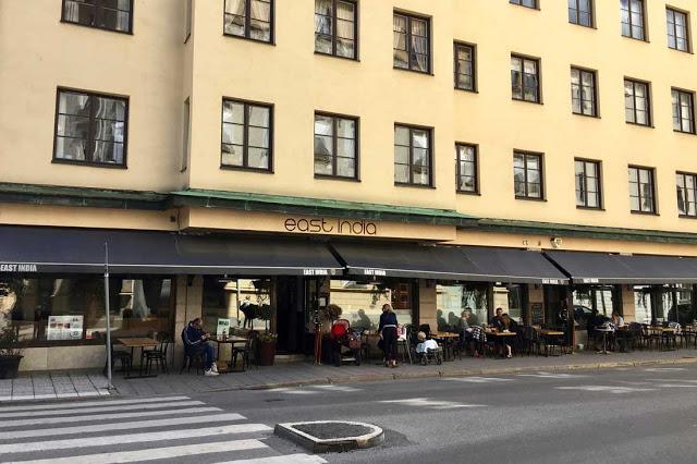 Ravintola East India, Tukholmassa