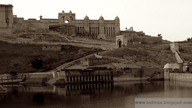 Amber Fort Jaipurissa Intiassa