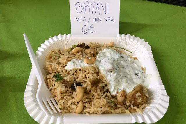 Biryani on maukas ja maustettu riisiateria