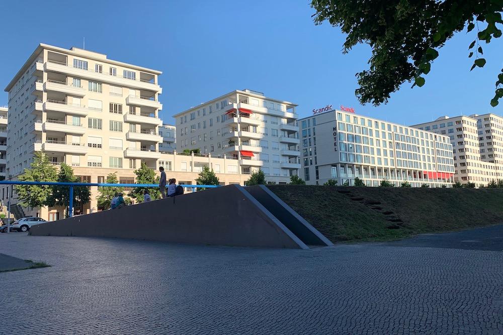 Berliini ja Hotel Scandic Potsdamer Platz 2019