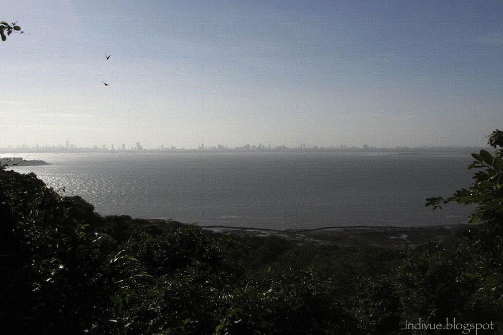 Mumbain kaupunkisiluetti