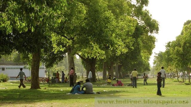 Intialainen puisto