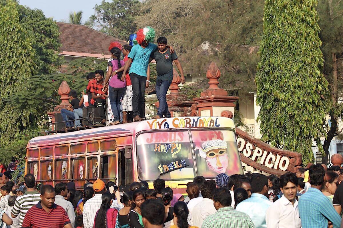 Goan karnevaalit ja 5 syytä kokea ne