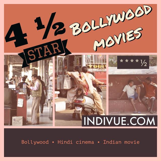 Neljän ja puolen tähden Bollywood-elokuvia