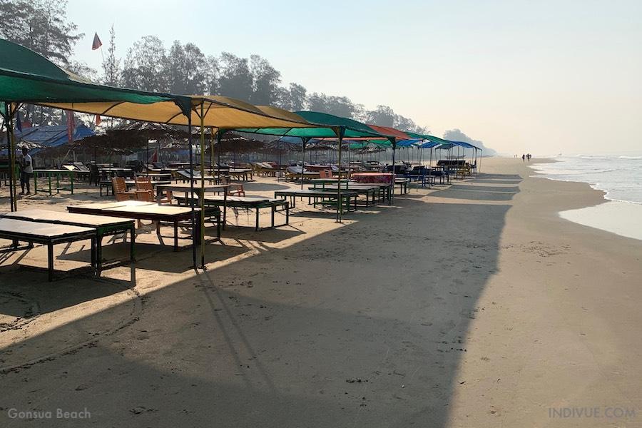 Gonsua Beach Etelä-Goassa