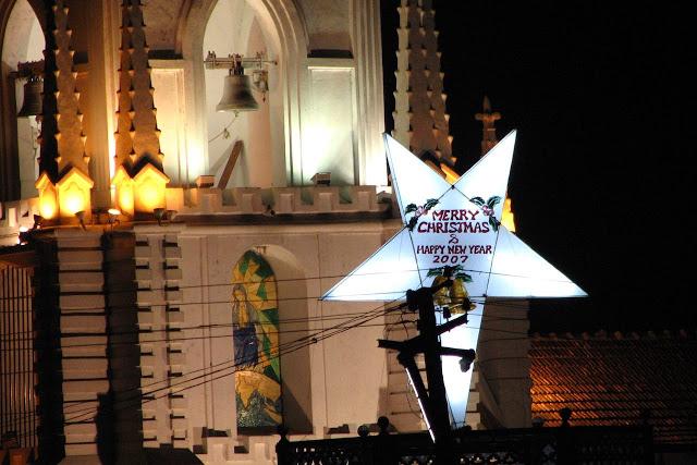 Hyvän joulun ja uuden vuoden toivotus Goassa 2006