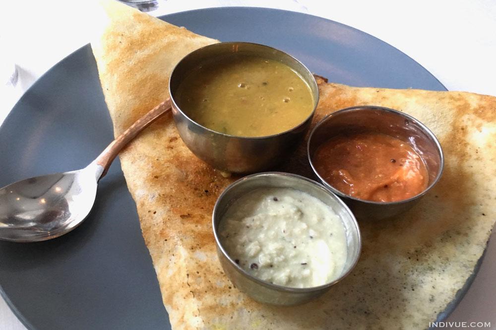 Eteläintialainen ravintola Kööpenhaminassa: The South Indian