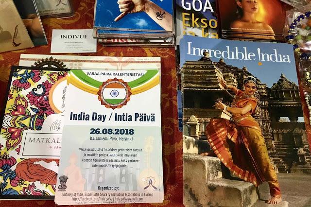 Suomi-Intia seura ry mukana Joogafestivaleilla