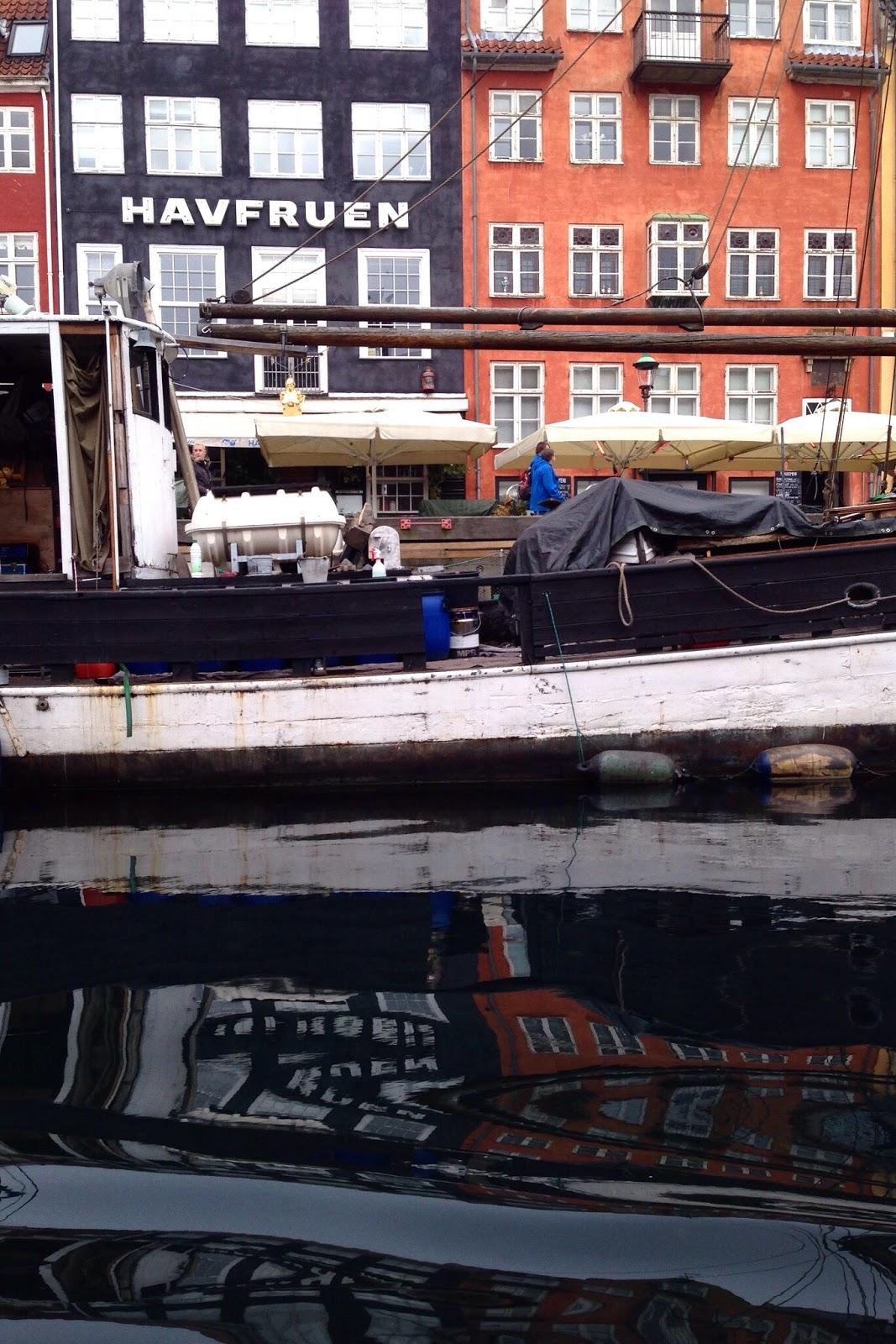 Nyhavn - kanaali Kööpenhaminassa