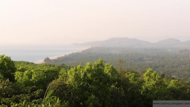 Intian rantaviivaa Karnatakassa
