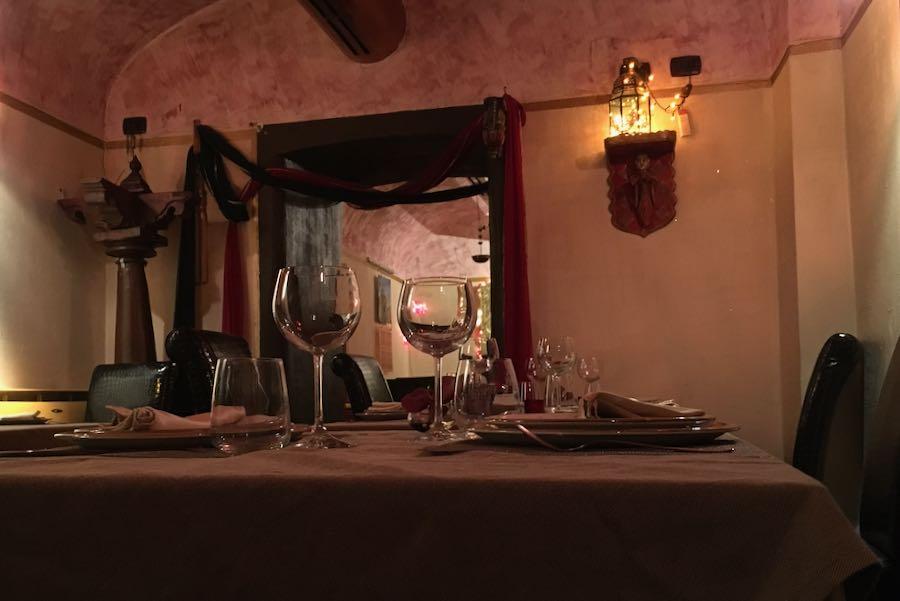 Yllättävän huono intialainen ravintola Roomassa