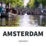 Amsterdamin kanaali ja risteily