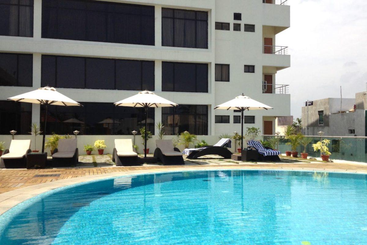 Sunway Manor hotellin uima-allas