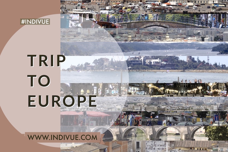 Cover image of INDIVUE - Trip to Europe
