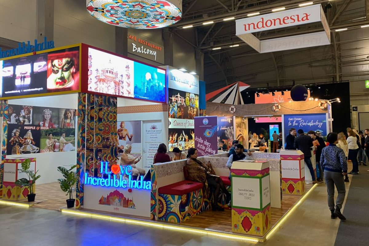 Intia ja Indonesia Matka2020-messuilla