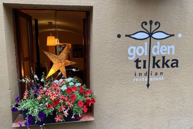 Golden Tikka - intialainen ravintola Prahassa