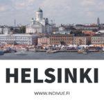 Helsingin Kauppatori näkymä mereltä