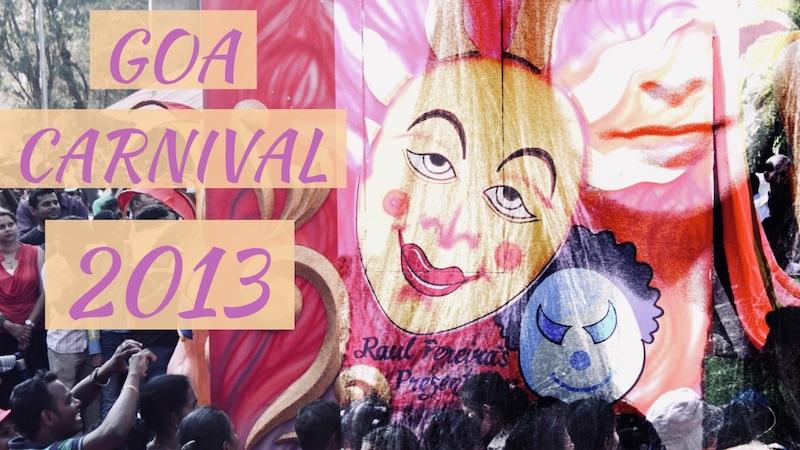 Karnevaalihuumaa Goassa vuonna 2013