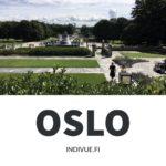 Vigelandin puistoa Oslossa