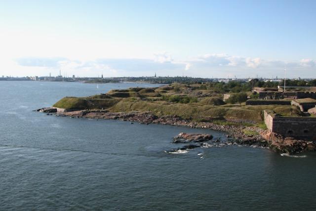 Suomenlinnan rantaa vuonna 2007