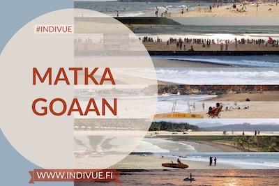 Matka Goaan -teoksen kansikuva