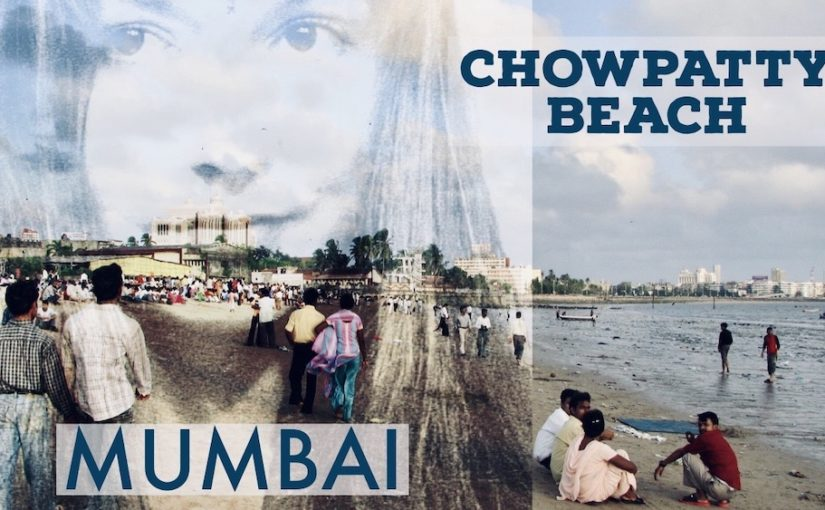 Rantaelämää Mumbaissa; Chowpatty Beach ennen älypuhelimia