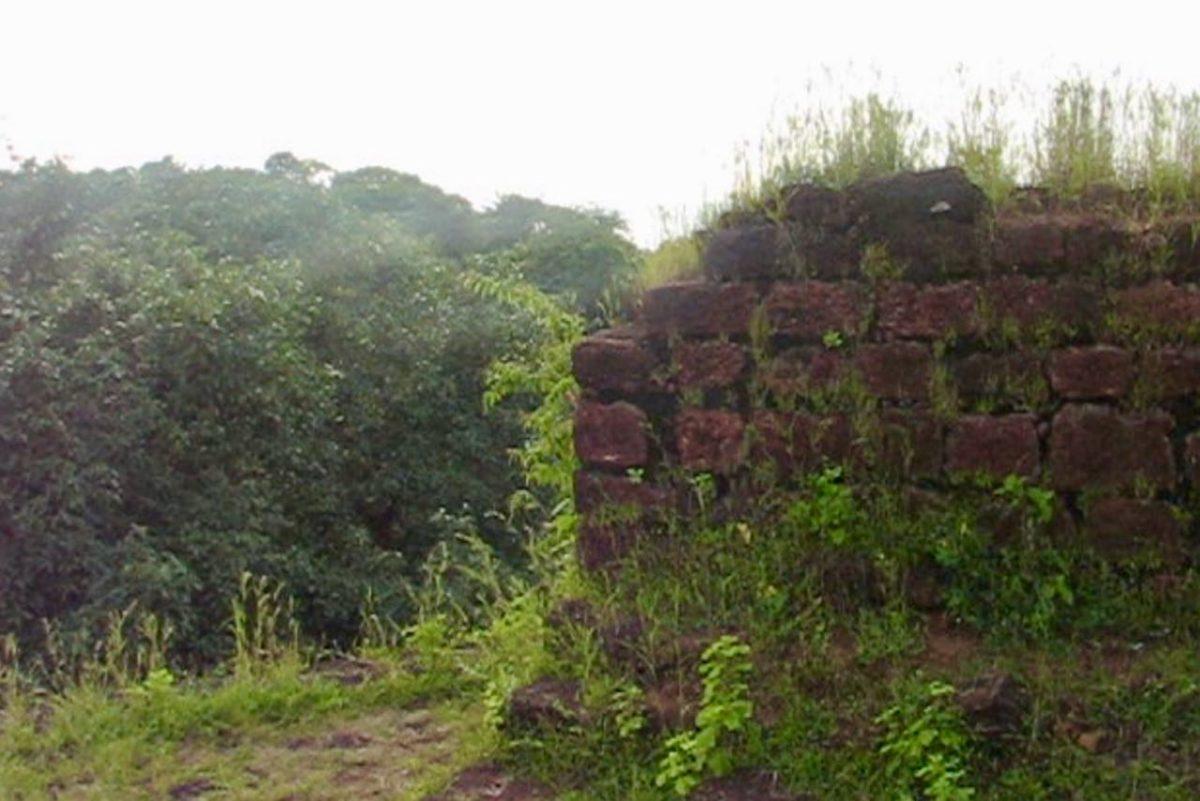 Cabo de Rama Fortin muuria