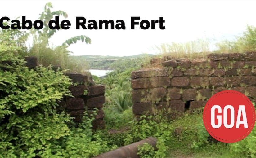 Cabo de Rama Fort -linnoitus Goassa