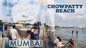 Chowpatty Beach Mumbaissa