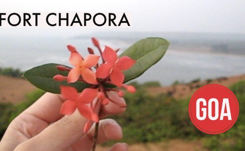 Fort Chaporan rinteillä Goassa