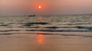 Kalastajia Goan rannalla