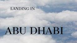 Lentomatkalta Abu Dhabiin