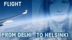 Lento Delhistä Helsinkiin -kansikuva