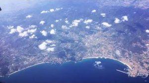 Lentomatkalta Barcelonaan