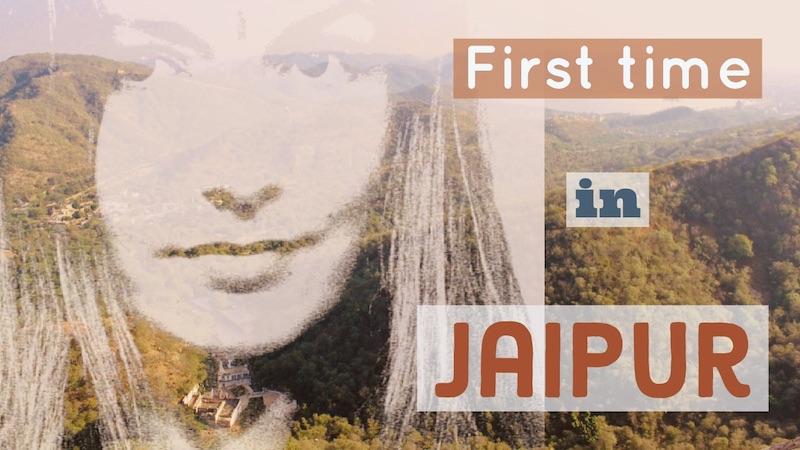 Videolla Jaipur Intiasta